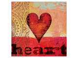 Game Play Heart Prints by Alan Hopfensperger
