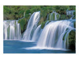 Krka Waterfalls Croatia Poster