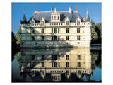 French Water Chateau Prints