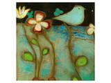Sea Garden Triptych IV Posters by Anne Hempel
