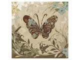 Garden Variety Butterfly I Print by Alan Hopfensperger
