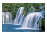 Krka Waterfalls Croatia Prints