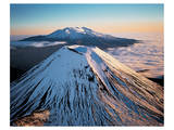 Mount Ngauruhoe New Zealand Art