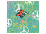 Peace Sign Ladybugs IV Prints by Alan Hopfensperger