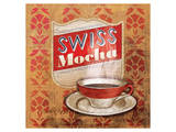 Coffee Flavor Swiss Mocha Poster by Alan Hopfensperger