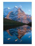 Mountain Lake In The Rockies Print