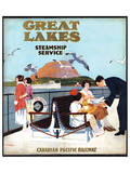 Great Lakes Steamship Service, Canadian Pacific Railway Prints