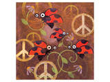 Peace Sign Ladybugs VI Posters by Alan Hopfensperger