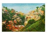 Cinque Terre, Italy Kunst von Chris Vest