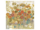 Floral Frenzy III Poster by Alan Hopfensperger