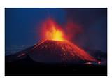Lava Eruption Etna Print