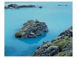 Blue Lagune Iceland Art