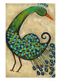 Preening Peacocks I Posters by Anne Hempel