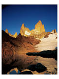 Mount Fitz Roy Laguna Prints