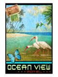 Meeresblick I Kunstdruck von Chris Vest
