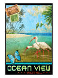 Ocean View I Poster by Chris Vest