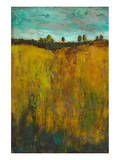 Turquoise Sky meets Golden Field I Prints by Anne Hempel