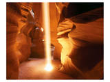 Sun Ray In Antelope Canyon Art
