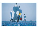 Sail Boat Race Posters