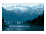 Lake Matheson South Island Prints