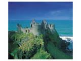 Ruins Of Dunluce Castle Print