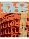 Rome, Colliseum Print