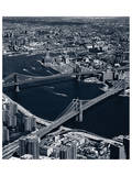 Manhattan and Brooklyn Bridge, New York Prints