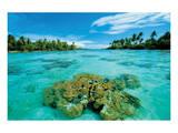 Atoll Island Print
