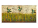 Hummingbirds in Tall Grass II Prints by Anne Hempel