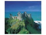 Ruins Of Dunluce Castle Posters
