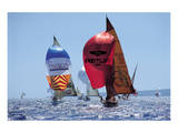 Perfect Day For A Sail Race Prints