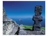 Engraved Irish Menhir Posters