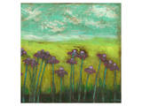 Cone Flowers on Lime Hill II Posters by Anne Hempel