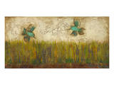 Hummingbirds in Tall Grass I Prints by Anne Hempel