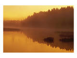 Vermillion River Sunrise Prints by Mike Grandmaison