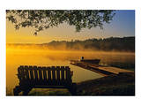 Tilton Lake Sunrise Prints by Mike Grandmaison