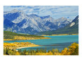 Abraham Lake Prints by Mike Grandmaison