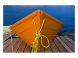 Orange Boat Prints by Mike Grandmaison