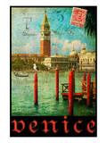 Venice, San Marco, Canale Grande Plakater af Chris Vest