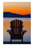 Muskoka Chair Posters by Mike Grandmaison