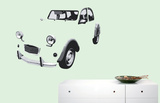 2 HP Wall Decal Autocollant mural