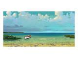 Schooner Island Art by Rick Novak