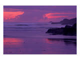 Long Beach Sunset Prints by Mike Grandmaison
