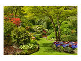 Butchart Gardens I Prints by Mike Grandmaison