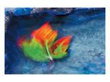 Swirling Maple Leaves IV Art by Mike Grandmaison
