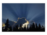 God Rays Prints by Mike Grandmaison