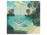 Tarpon Grande Key Poster by Rick Novak