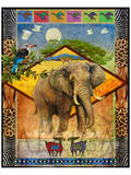 Elephant/Elefanten Kunstdrucke von Chris Vest