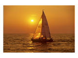 Sailing on Lake Ontario Prints by Mike Grandmaison
