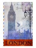 Big Ben Tower, London Poster von Chris Vest
